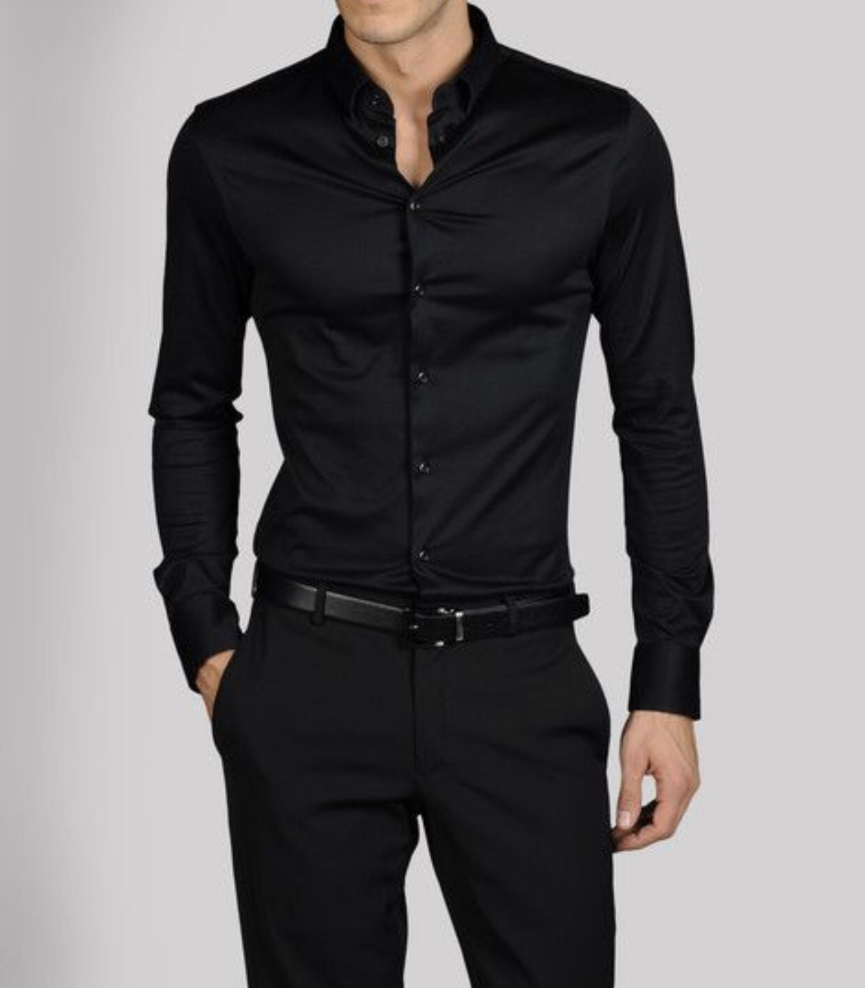 black brown clothing - 409×546