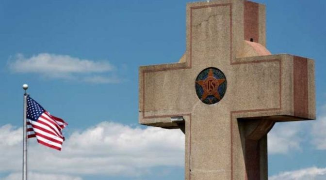 WWI Memorial Cross To Be Torn Down After Controversy