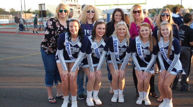 West Clermont Cheerleading Senior Night Photos