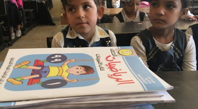 After Three Years of ISIS, Children of Mosul Return to School