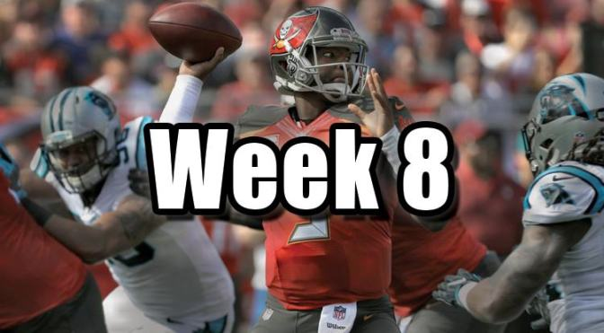 NFL Week 8 Recap