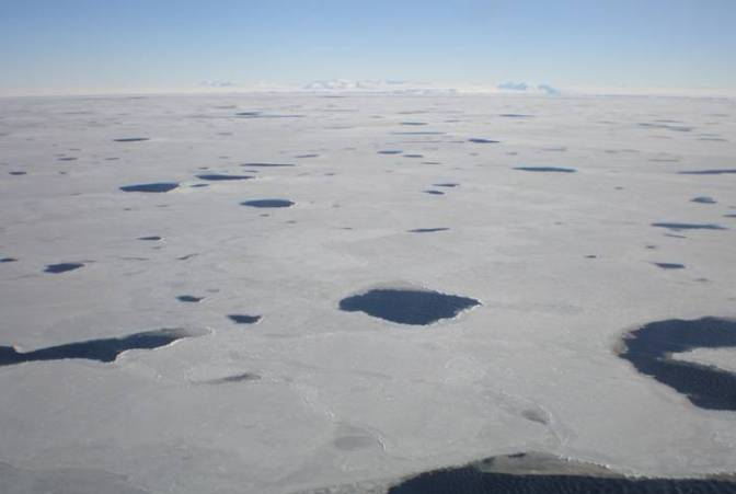 Mysterious Hole in Antarctica