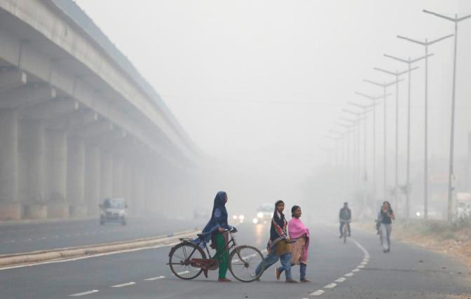 Deadly Air Pollution in New Delhi