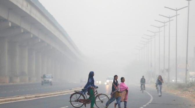Deadly Air Pollution in New Delhi