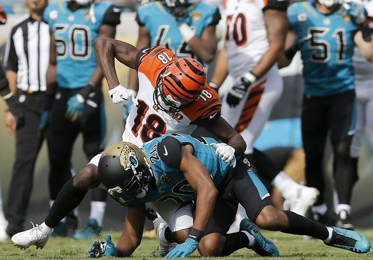 AJ Green and Jalen Ramsey Ejected