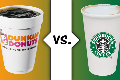 Dunkin Donuts Vs Starbucks