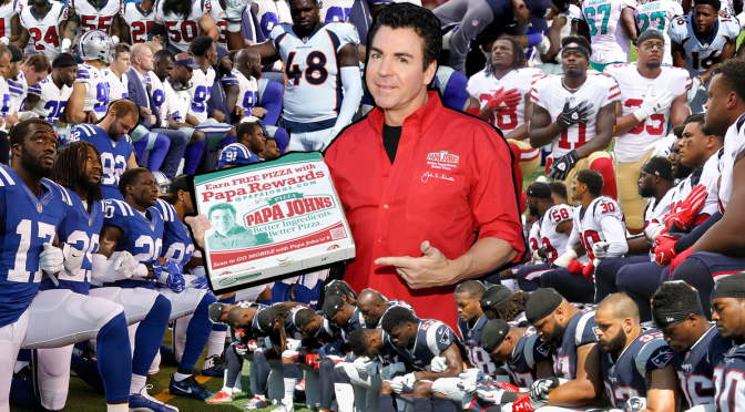 Papa John's blames the NFL