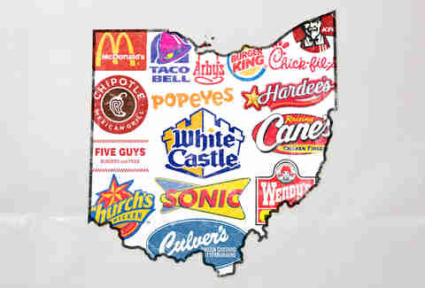 Top Five Fast Food Restaurants in Ohio