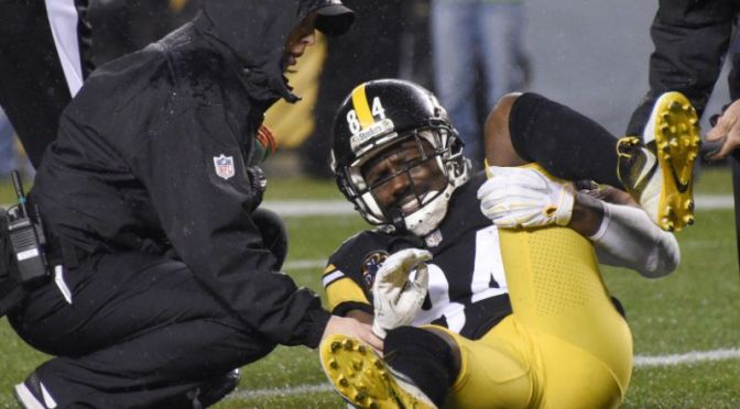 Antonio Brown Out
