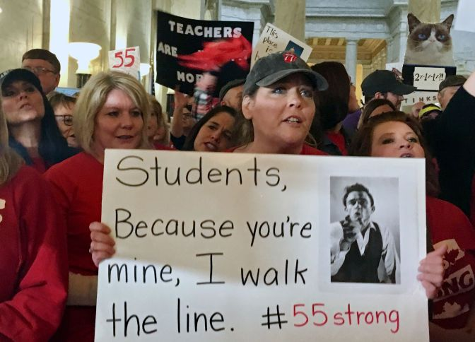 West Virginia Schools Protest Hits 4 Full Days