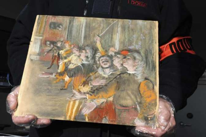 Four Art Pieces Stolen From French Display