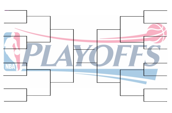 picture regarding Nba Playoff Bracket Printable named If the Playoffs Commenced Nowadays Wolves Weekly