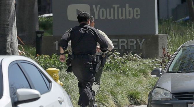 Shooting at YouTube HQ