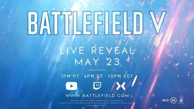 Battlefield 5 Teaser Released; Reveal Later Today