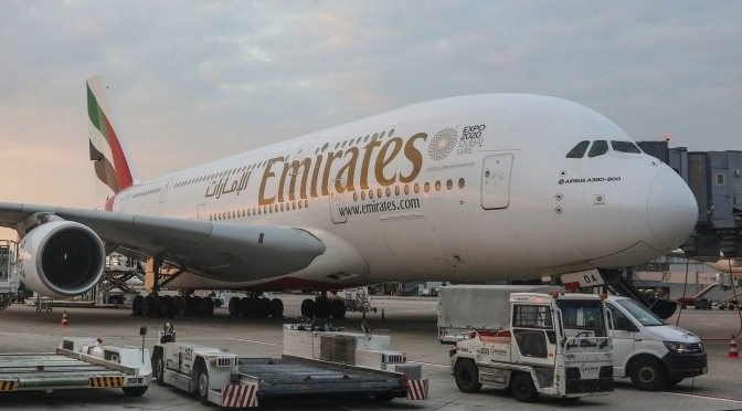 Emirates Flight Quarantined Over Influenza