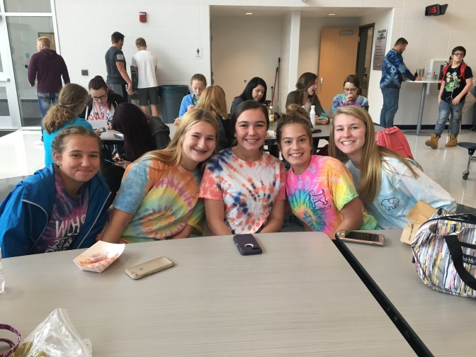 Tie Dye Day For West Clermont High School