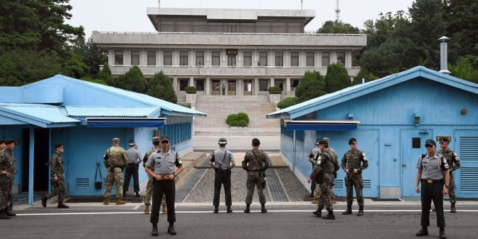 North & South Korea Begin To Disarm Border