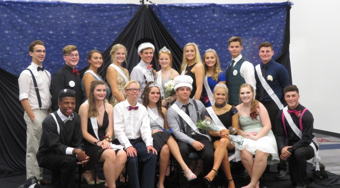 Fall Homecoming Court
