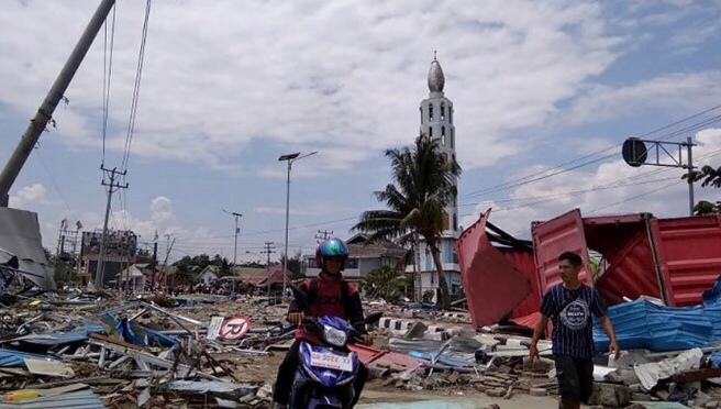 Indonesia's Relief Effort