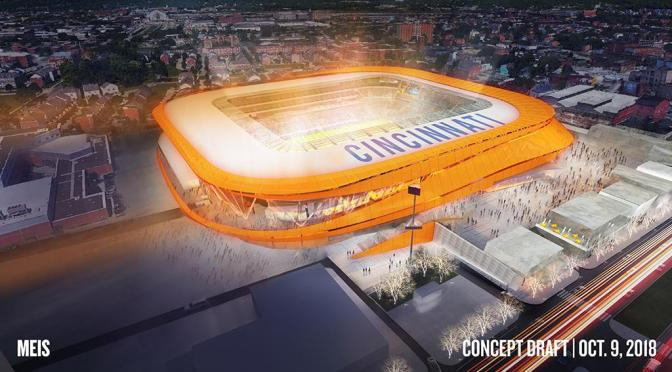 FC Cincinnati Stadium Reveal