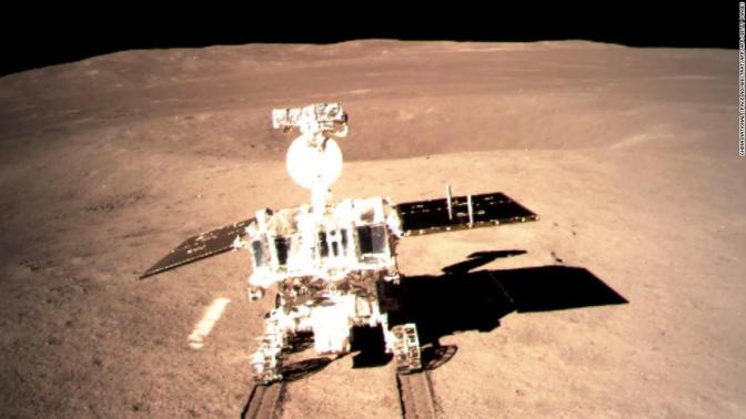 China Makes Touchdown on the Dark Side of the Moon