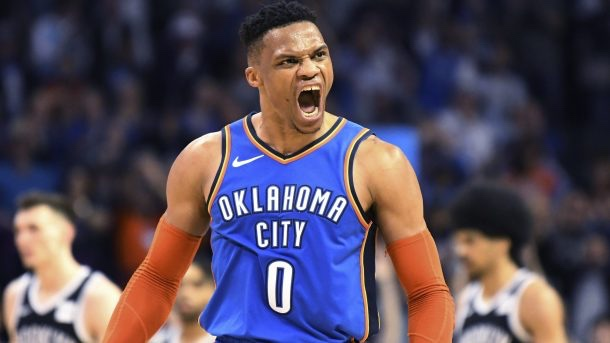 Russel Westbrook Records Second 20-20-20 Triple Double