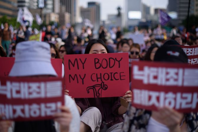 South Korea To Lift Controversial Abortion Ban By 2020