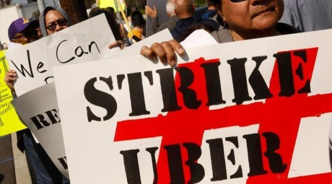 Going on strike for Uber