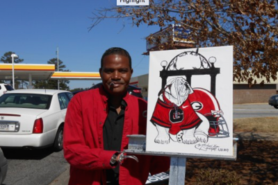 Armless Artist Robbed