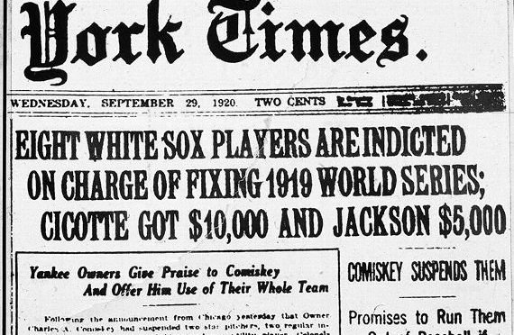 The Black Sox Scandal: An Overview